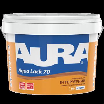 Aura Aqua Lack 70 акриловый лак для интерьеров 10 л