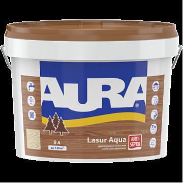 Aura Wood Lasur декоративно-защитное средство для деревянных фасадов 9л.