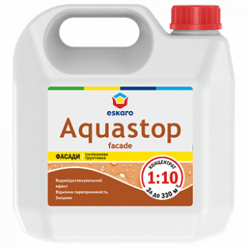 Eskaro Aquastop Facade фасадный грунт (концентрат) 3л.