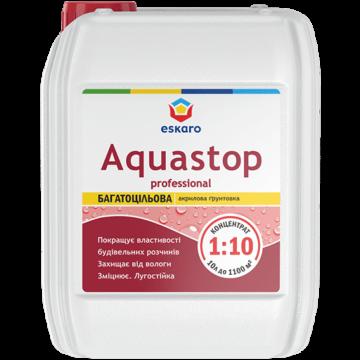 Eskaro Aquastop Professional грунтовка для бетона 10л.