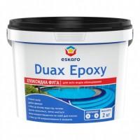 Eskaro Duax Epoxy №210 (Белый) Двухкомпонентная эпоксидная затирка для межплиточных швов 2кг