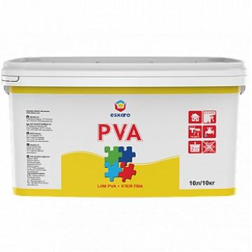 Eskaro PVA клей ПВА для внутренних работ 10л.