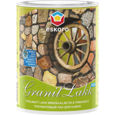 Eskaro Granit Lakk лак для камня (полуматовый) 0,95л.