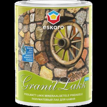 Eskaro Granit Lakk Aqua лак для камня (полуматовый)0,95л.