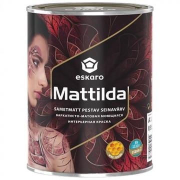 Eskaro Mattilda краска для стен и потолков (матовая) 0,95 л.