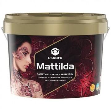 Eskaro Mattilda краска для стен и потолков (матовая) 9,5л.