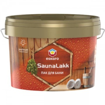 Eskaro Saunalakk лак для бани 2,4л.