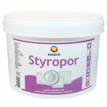 Eskaro Styropor клей для изделий из полистирола 3кг.