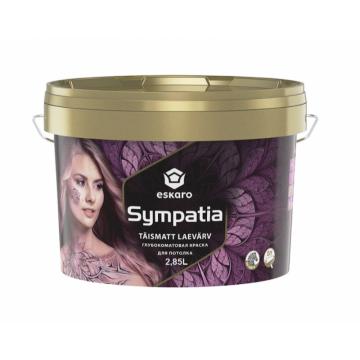 Eskaro Sympatia краска для потолка (матовая) 2,85 л.