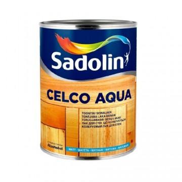 Sadolin Celco Aqua 10, 70 (Садолин Селко Аква 10,70) колеруемый лак для стен 2,5л