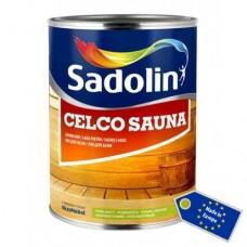 Sadolin Celco Sauna 20 (Садолин Селко Сауна 20) лак для бани и сауны 1л
