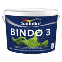 SADOLIN BINDO 3 (Садолин Биндо 3) водоэмульсионная краска 10л.