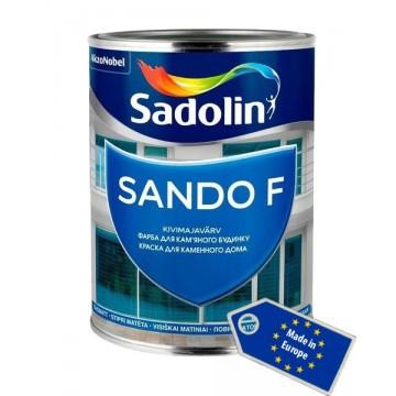 Sadolin Sando F (Садолин Сандо А)краска для фасада и цоколя 1л.