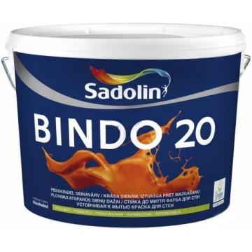 SADOLIN BINDO 20 (Садолин Биндо 20) водоэмульсионная краска 5л.