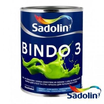 SADOLIN BINDO 3 (Садолин Биндо 3) водоэмульсионная краска 1л.