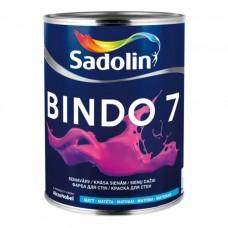 SADOLIN BINDO 7 -  Матова фарба для стін та стелі, що миється 1л