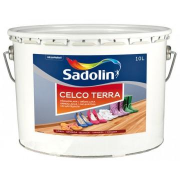 Sadolin CELCO TERRA 20,45,90 (Садолин Склко Тера 20, 45, 90) лак для пола 2,5 л