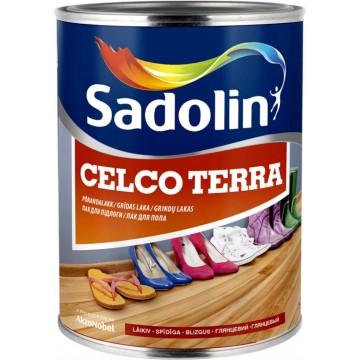 Sadolin CELCO TERRA 20,45,90 (Садолин Склко Тера 20, 45, 90) лак для пола 1л