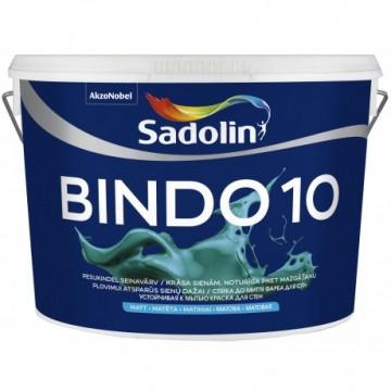 Sadolin Bindo 10 Устойчивая к мытью краска для стен 2,5л