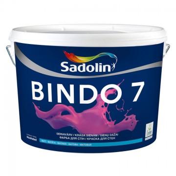 SADOLIN BINDO 7 Матовая краска для потолка и стен 2,5л