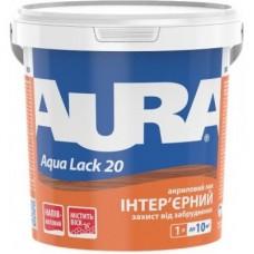 Aura Aqua Lack 20 акриловый лак для интерьеров 1 л