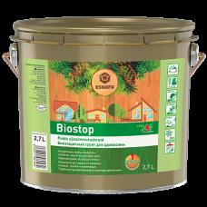 Aura Biostop биозащитный грунт для древесины 2,7л.