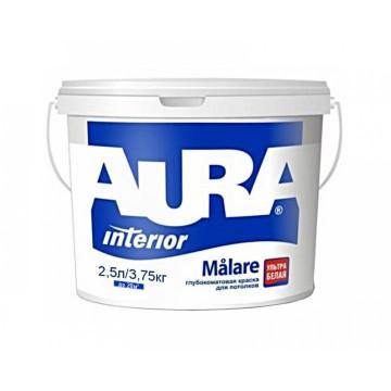 Aura Malare краска для потолков (глубокоматовая) 2,5л.