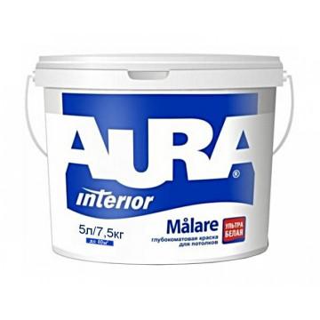 Aura Malare краска для потолков (глубокоматовая) 5л.