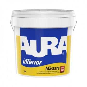 Aura Mastare краска для стен и потолков (глубокоматовая) 1л.