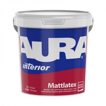 Aura Mattlatex краска для потолков и стен 1л.