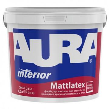 Aura Mattlatex краска для потолков и стен 5л.