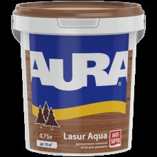Aura Lasur декоративно-защитное средство для деревянных фасадов 0,75л.