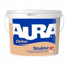 Aura Dekor Struktur структурная краска для фасадов и интерьеров 10л.