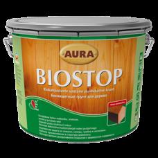 Aura Biostop биозащитный грунт для древесины 0,7л.