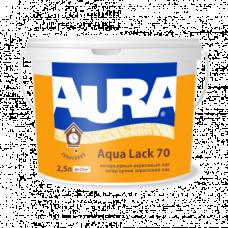 Aura Aqua Lack 20 акриловый лак для интерьеров 2,5 л
