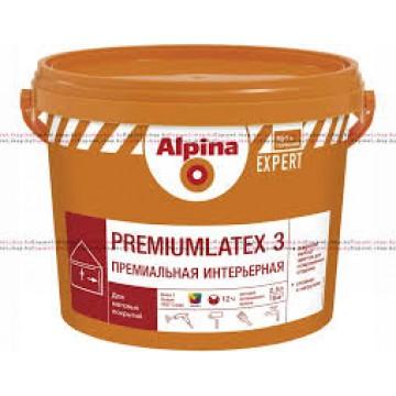 Alpina EXPERT Premiumlatex 3(Альпина Эксперт премиумлатекс 3) 10 л