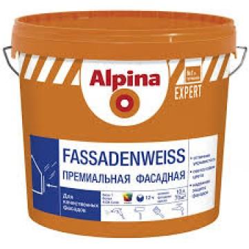 Alpina Expert Fassadenweiss (Альпина Фассаденвайс) 10 л