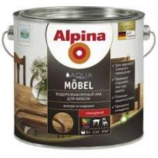 ALPINA AQUA MÖBEL (ШЕЛКОВИСТО-МАТОВЫЙ) Альпина 0.75 л