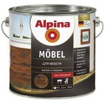 Alpina Aqua Mobel глянцевый (Альпина) 2.5л