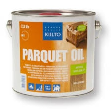 Kiilto parquet oil silver gray 2.5 L