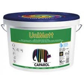 Краска минеральная для внутренних работ UNIMATT 10 Л, CAPAROL