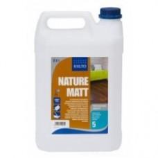 Водорастворимый экстра матовый паркетный лак Kiilto Nature Matt (Килто Натуре Мат) 5л.