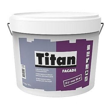 Titan Facade краска для фасадов 1л.